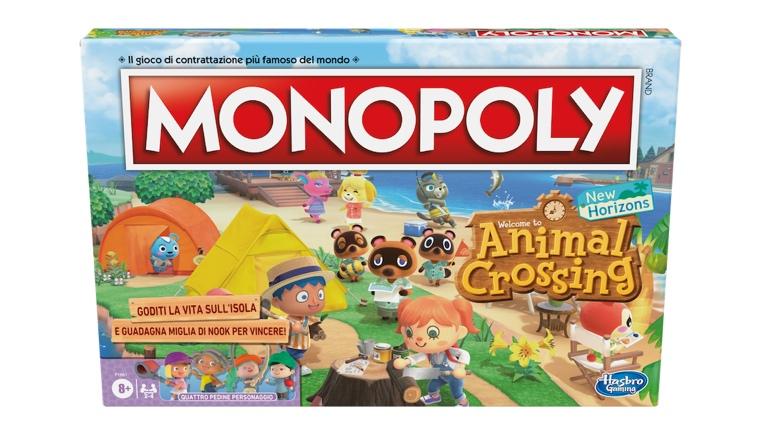 Hasbro, in arrivo il Monopoly di Animal Crossing