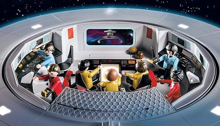 Da Playmobil la riproduzione della leggendaria U.S.S. Enterprise