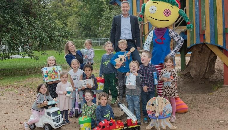 Spielwarenmesse, ripartono le donazioni di giocattoli in beneficenza
