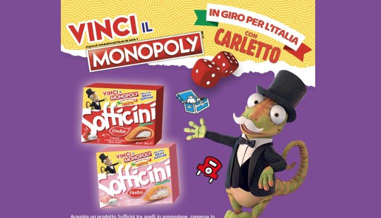 Hasbro, al via la promozione 'In giro per l'Italia con Carletto'