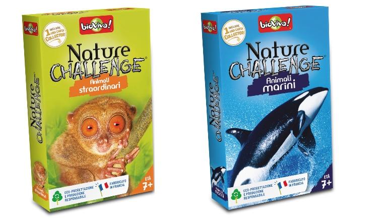 A Città del Sole arrivano i giochi di carte Nature Challenge